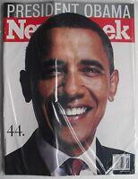 BARACK OBAMA  Nov. 17, 2008 NEWSWEEK Magazine NEW MINT SEALED!