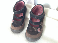 BABIES CHAUSSURES cuir bronze marron  T 23, TBE, val 32€