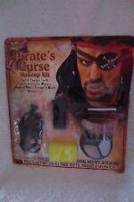 Pirate Curse Makeup Kit Soft & Flexible Horror Teeth/Paint More Halloween
