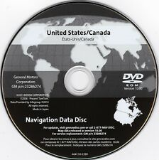 2005-2012 Chevrolet Corvette New Navigation Dvd Map Update 10.0 Gm 23286274 Gps (Fits: Cadillac)