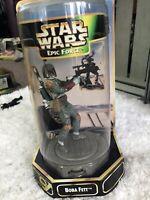Star Wars EPIC FORCE BOBA FETT FIGURE 360 KENNER 1997 New