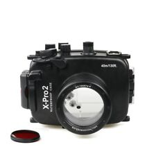 Meikon 40m/130ft Underwater Diving Camera Housing for Fujifilm X-pro2 (16-50mm )