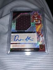 2018 Panini Unparalleled DERRIUS GUICE Jumbo Patch Relic Auto Redskins RC