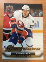 UPPER DECK 2015-2016 SERIES TWO ADAM PELECH YOUNG GUNS CANVAS HOCKEY CARD C-213