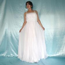 Grand Perles Verre au Niveau de la Robe Mariée XS Plissé en Ligne A Mariée, Bal
