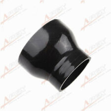 "3.25"" To 2.5'' inch Straight Reducer Silicone Coupler 3 Ply Hose Pipe Black"