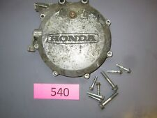 honda cx500T cx500 turbo engine clutch cover cx650t BROKEN 1983 cx650 1982