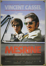 MESRINE: KILLER INSTINCT DS ROLLED ORIG 1SH MOVIE POSTER VINCENT CASSEL (2008)