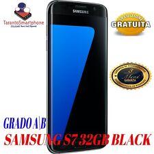 SMARTPHONE SAMSUNG GALAXY S7 32GB BLACK USATO RICONDIZONATO GRADO A