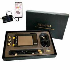 50KHz-900MHz NanoVNA-H HF VHF UHF Vector Network Analyzer Antenna Analyzer +Case