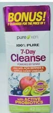 Purexen 100% Pure 7-Day Cleanse, 42 Easy-to-Swallow Veggie Capsules Exp 4/23