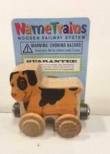 Maple Landmark Train Letters:Snickers The Dog-New W/Tags!