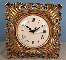 Vintage Freestanding Composite Quartz Clock by Faversham Clock Co.