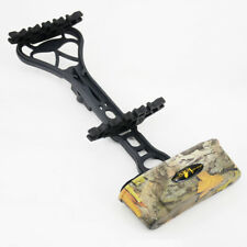 Detachable 6 Arrows Arrow Quiver Holder Case Compound Bow Hunting Shooting Tool