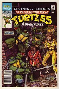 Teenage Mutant Ninja Turtles Adventures #1 - 1988 Archie - Newsstand - VFn (8.0)