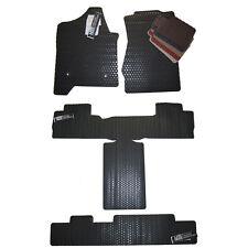 2015 2017 Cadillac Escalade All Weather Floor Mats  -Short Body Style- Black Tan