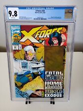 X-Force #25 CGC 9.8 Wraparound with Cable Hologram Fatal Attractions X-Men