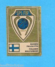 FOOTBALL CLUBS-PANINI 1975-Figurina n.275- FINLANDIA -SCUDETTO/BADGE-Rec