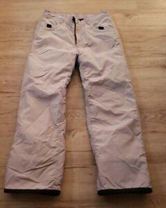 Roxy Junior Size Quicksilver Snowboarding Pants Size Large (Nylon/polyester)