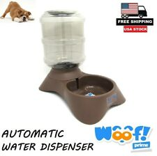 Automatic Pet Water Dispenser Fountain Cat Dog Auto Drinking Dish Bowl Feeder