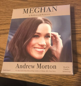 Meghan A Hollywood Princess By Andrew Morton Audio Book On 7 CD's