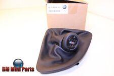 Perilla De Cuero BMW GEARLEVER con Polaina/5 Velocidades, Negro/Msport RHD 25118036627
