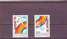 A123-Romania-sg5707-5708 MNH 1995 Europa-pace e libertà