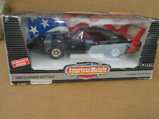American Muscle ERTL 1969 Charger Daytona Black w/Red Stripe MINT CONDITION