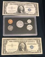 1956  United States Mint Set Proof  =&1 STAR NOTE 1-1937 SILVER CERTIFICATE