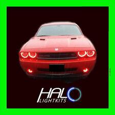 2008-2014 DODGE CHALLENGER RED PLASMA HALO HEADLIGHT+FOG LIGHT KIT by ORACLE