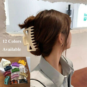 11cm Large Hair Claw Clip Women Clamp Section Strong Jaw Big Butterfly Barrette