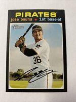 2020 Topps Heritage Baseball Jose Osuna Pittsburgh Pirates Card #234