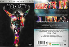 EDITION COLLECTOR 2 DVD - MICHAEL JACKSON : THIS IS IT / COMME NEUF - LIKE NEW