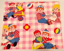 Raggedy Ann and Andy Dolls Small Pillowcase