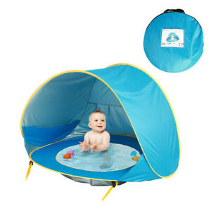 Kid Beach Tent Children Waterproof Sun Awning Tent UV-Protection Outdoor Camping