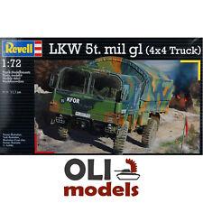 1/72 Modern German LKW 5t. mil gl MAN KAT1 4x4 Truck - Revell 03300