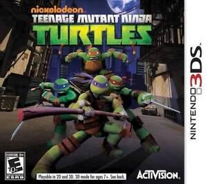 Teenage Mutant Ninja Turtles (Nintendo 3DS, 2013)