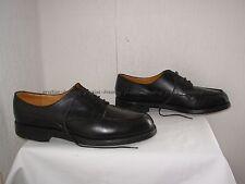 J.M. WESTON Chaussures Derby Le Golf cuir noir 10D (P.44)