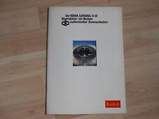 Der KODAK CAROUSEL S-AV Diaprojektor-ein Medium audiovisueller Kommunikation