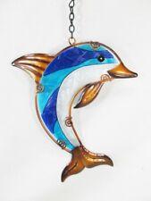 Dolphin Sun Catcher Yard & Garden Decor