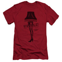 A CHRISTMAS STORY FRAGILE Licensed Adult Men's Graphic Tee Shirt SM-5XL