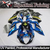 Blue Shark Injection Fairing Kit For Suzuki GSX-R600 GSXR750 2011-2019 ABS Body