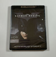 Batman Begins UHD (4K Ultra HD Blu-Ray) Fast Free Shipping
