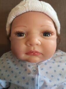 """Lifelike Silicone Vinyl 20"""" Baby Boy Doll"""