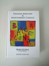 FREDDIE MERCURY & MONTSERRAT CABALLE BARCELONA DELUXE 4 DISCSET