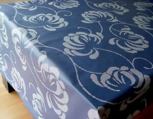 Meterware abwaschbar Tischdecke Baumwolle beschichtet 140cm breit, Velvet
