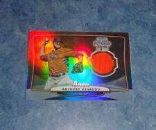 2013 Bowman Anthony Ranaudo Futures All Star Game Jersey Relic #64/99
