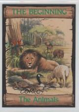1989 re-Ed Bible Cards Beginning #2 The Animals Non-Sports Card 0q3