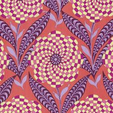 Amy Butler Eternal Sunshine Zebra Bloom Fabric in Persimmon PWAB161 100% Cotton