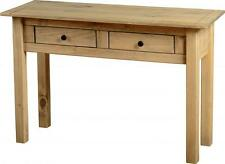 Seconique Panama Natural Wax Pine 2 Drawer Console Table